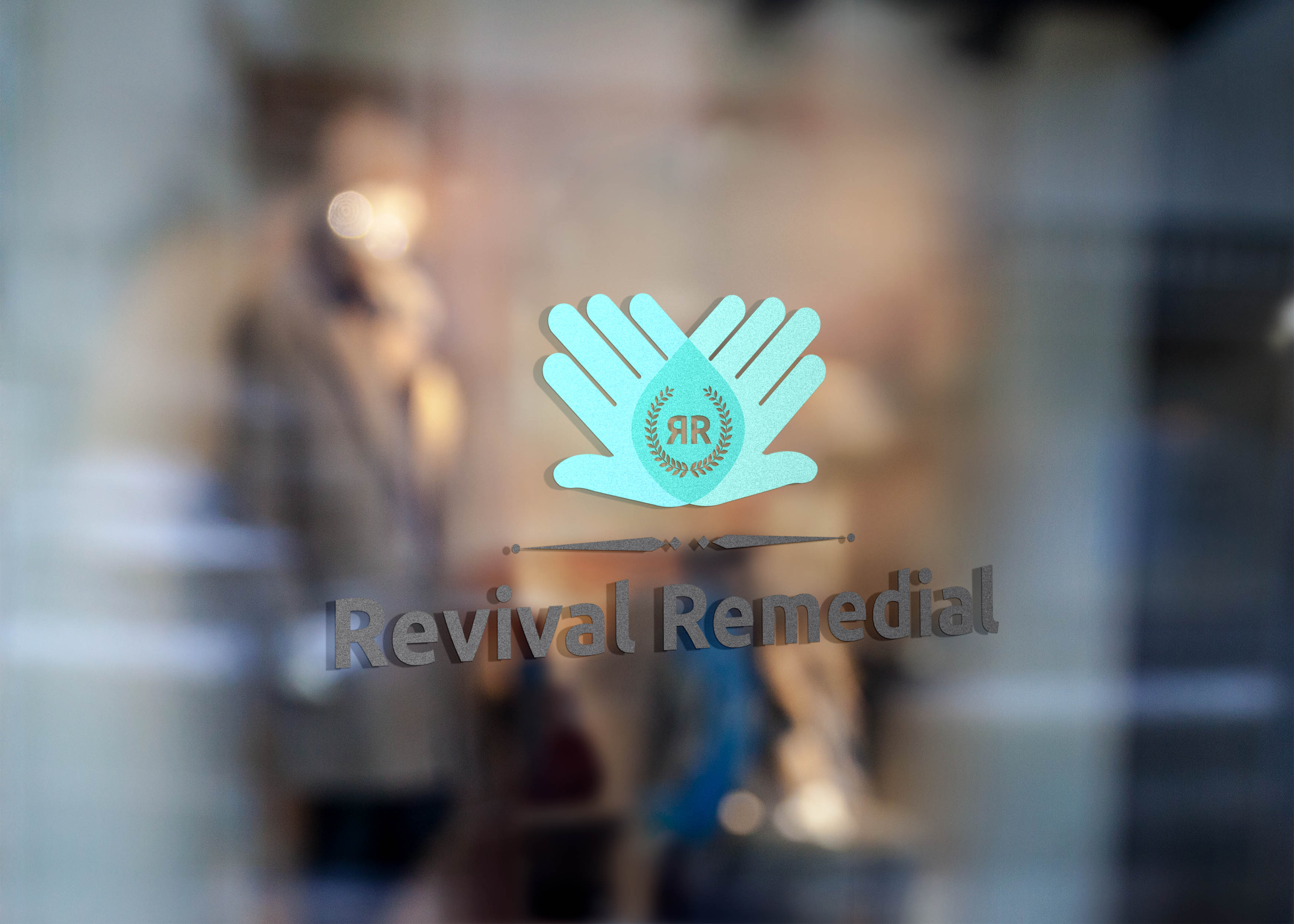 Check out our new logo for Revival Remedial!