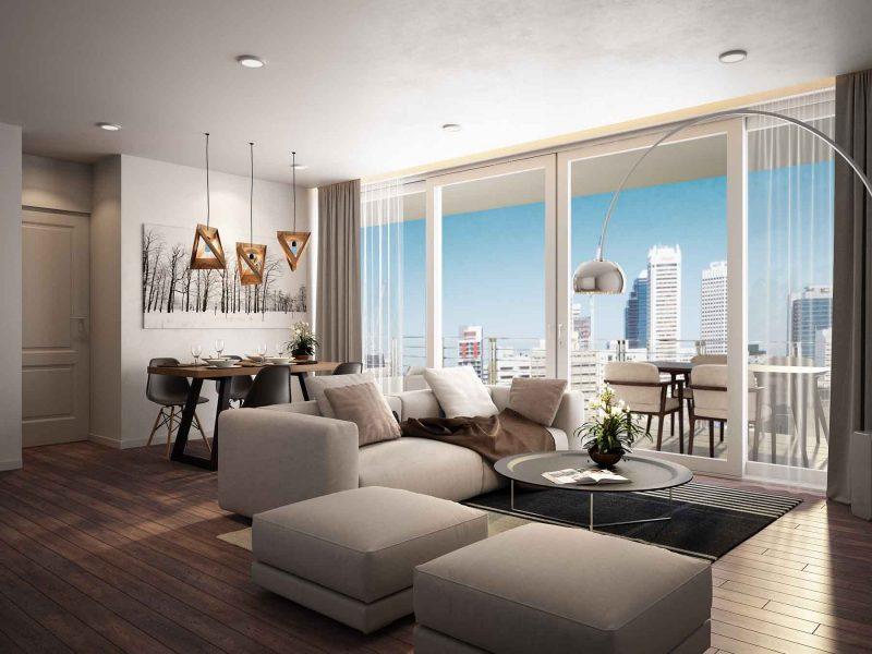 Apartment Design Render