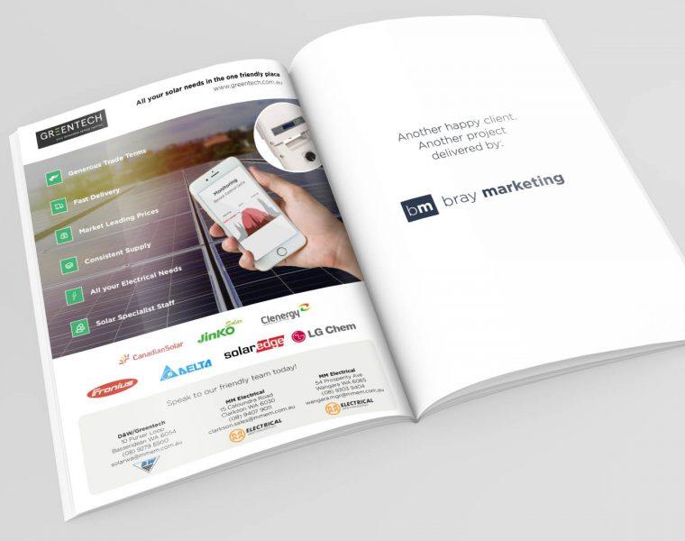 D&W - Greentech - MMEM - Bray Marketing - Web Design - Mobile App Design - Perth