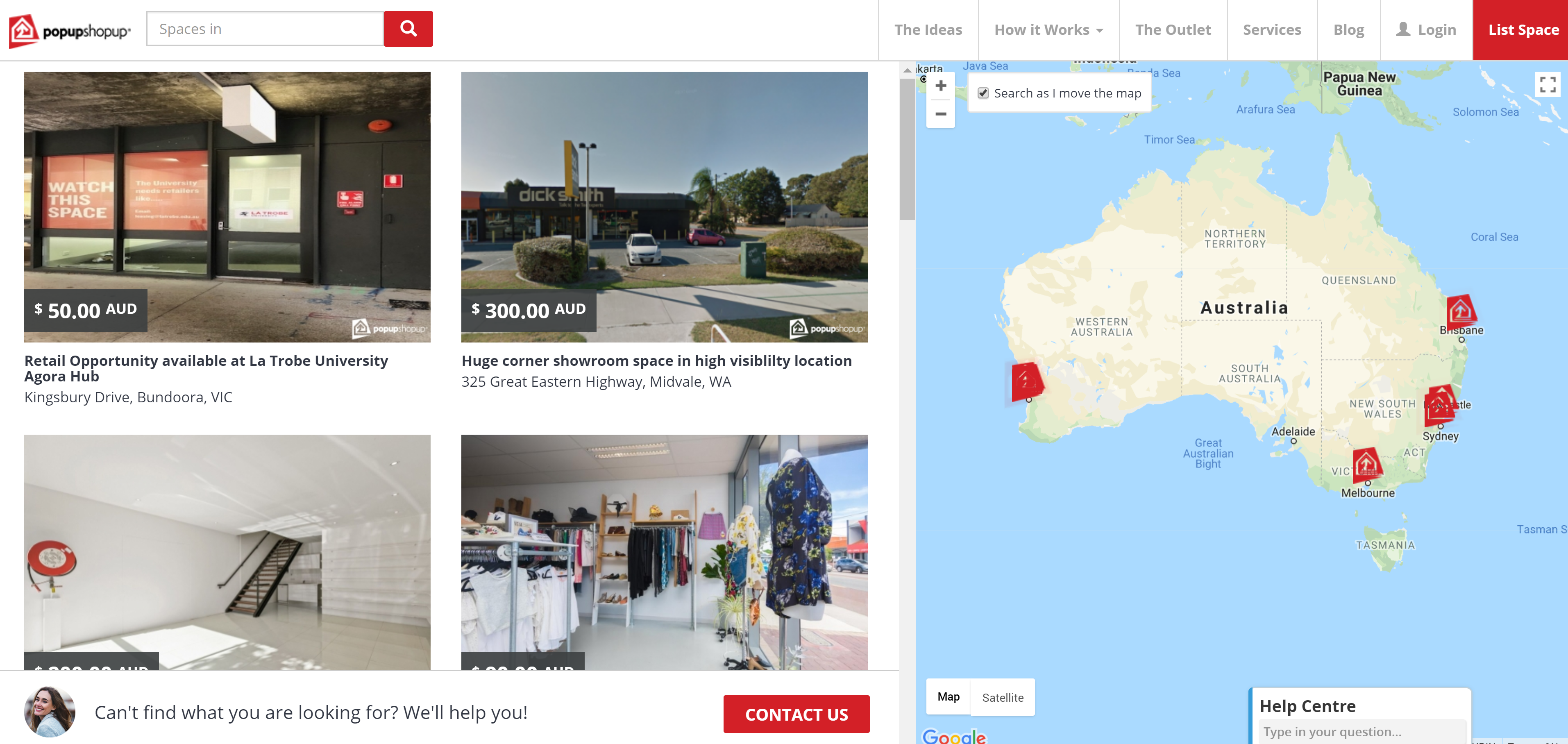 Popupshopup - Bray Marketing - Web Design Perth